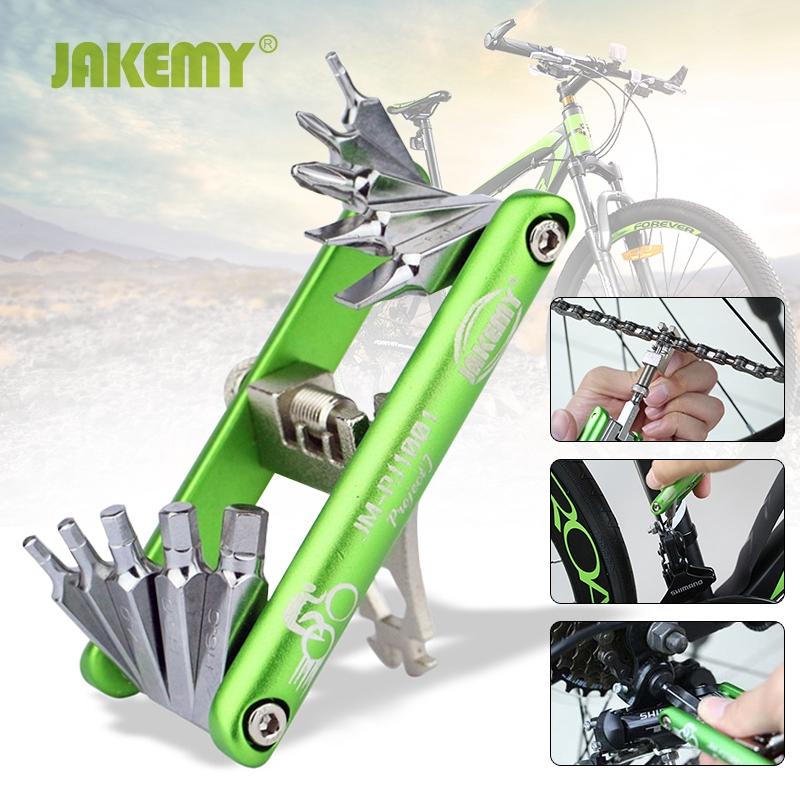 11 in 1 Bicycle Tools Sets Bike Multi Repair Kit Hex Spoke Wrench Screwdriver 1x