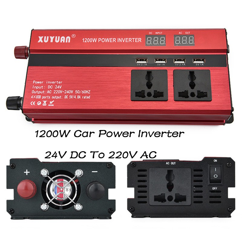Friendly P500c 500w Car Power Inverter Dc12v To Ac220v Solar Inverter Modified Charger Mc Heimwerker Erneuerbare Energie