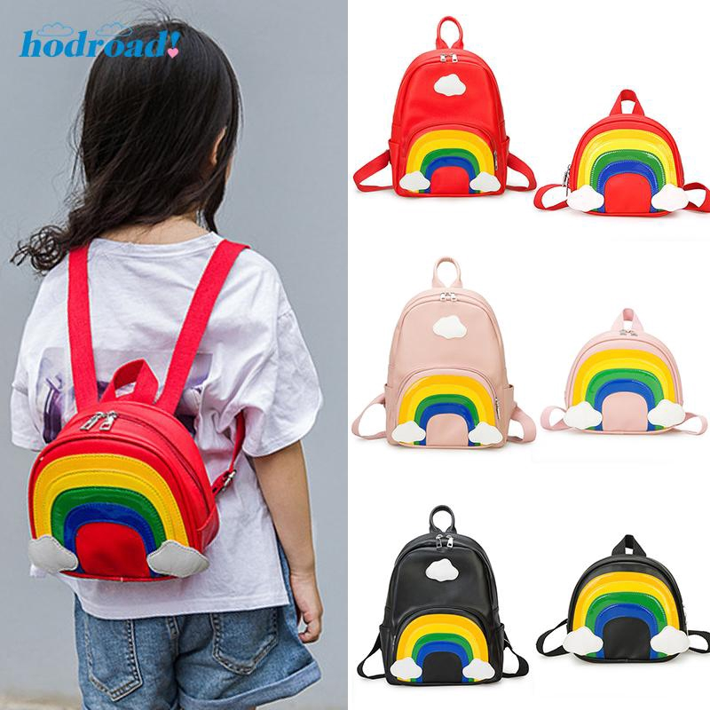 Kids Girls Boys Children Waist Shoulder Travel Cute Synthetic Leather bag Purse