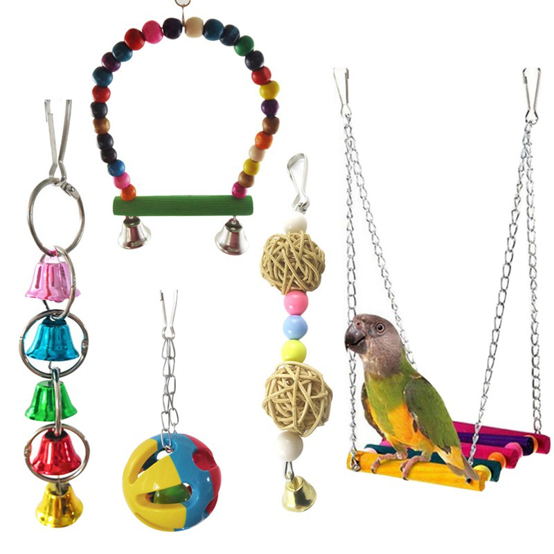 Home & Garden Bird Supplies Intelligent 10cm Ball Cockatiel Parakeet Pet Chewing Toy Parrot Bird Biting Swing Toy Bird Branch Rattan Balls Cages Toys Bird Supplies Moderate Price
