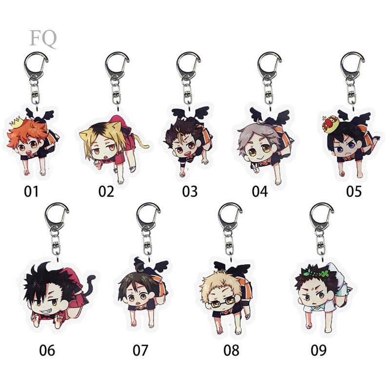 Haikyuu!! Haikyu Strap Collection Key Chain Movic Toru Oikawa New Fashion Keychains