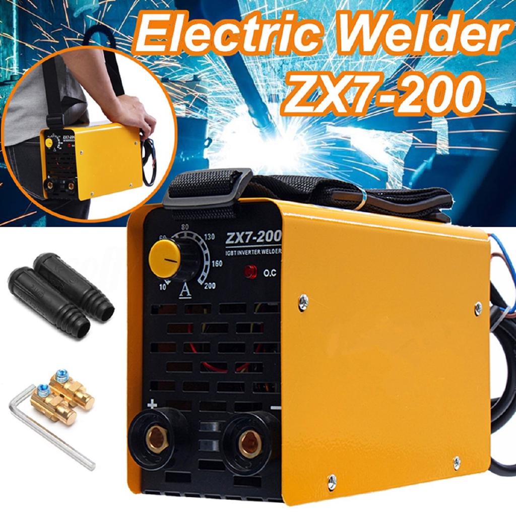 Welding & Soldering Equipment Forceful 1xhandheld Mini Mma Electric Welder 220v Power Inverter Arc Welding Machine Tool Tig Welders