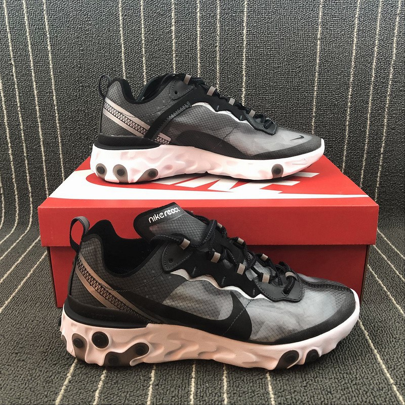 0ca965d5051 NIKE REACT ELEMENT 87 Takahashi Shield Joint Mesh Breathable Running Shoes  AQ109