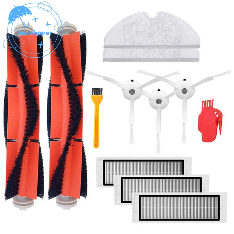 Home Appliance Parts Hand Tool Parts Sweeper Accessories 5 Series Rubber Brush Mesh Triple-cornered Brush Cleaner Set Robot Accessories For Irobot Se