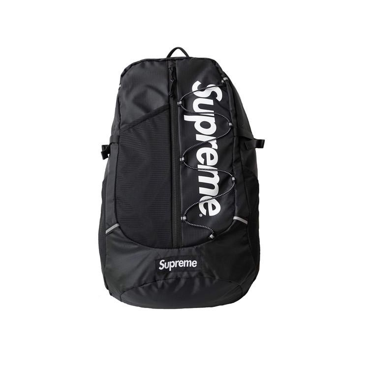 brand new a4fe4 b4955 Supreme Backpack SS17 Black   Shopee Singapore