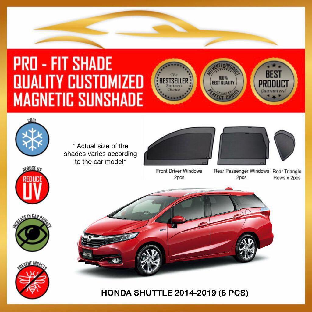 Honda Shuttle 2014-2020 ( 6 / 7 pcs ) Car Magnetic ...