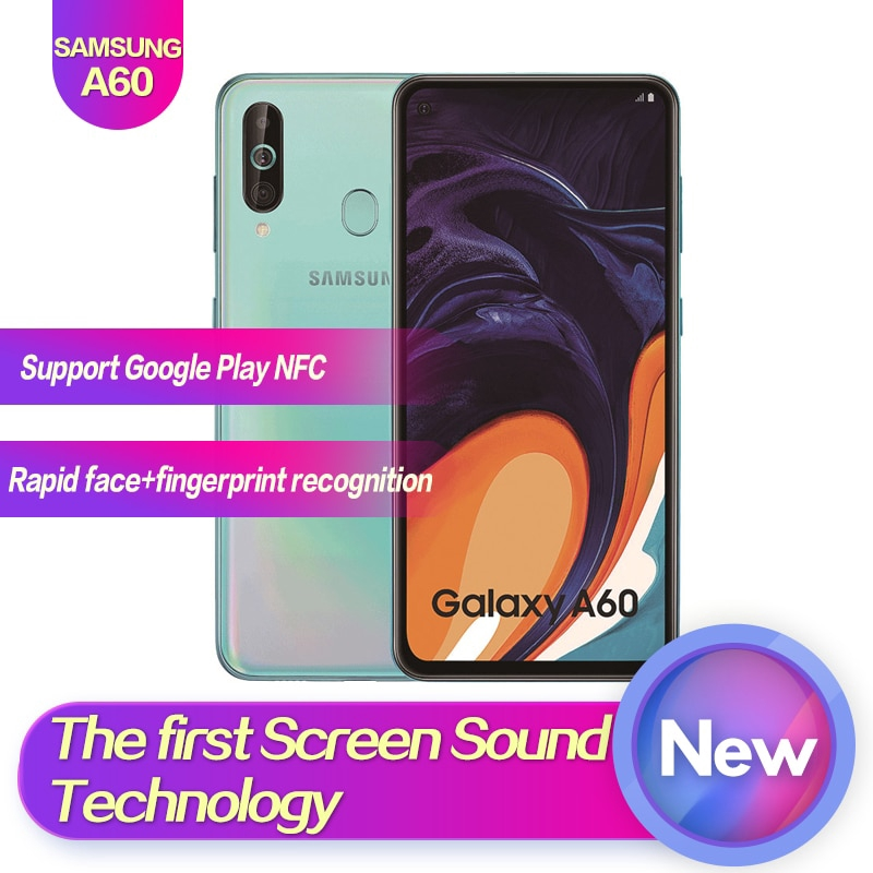 Samsung Galaxy A60 128GB Mobile Phone Android 9 0 SmartPhone