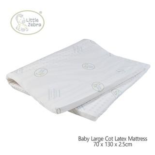Little Zebra Latex Large Cot Mattress | Shopee Singapore