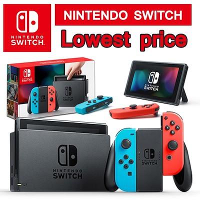 Nintendo Switch Console Super Bundle / 32GB (Grey // Neon Red/Blue)
