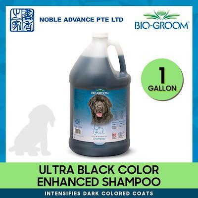 [BIO GROOM] Ultra Black Color Enhanced Shampoo (1 gallon)
