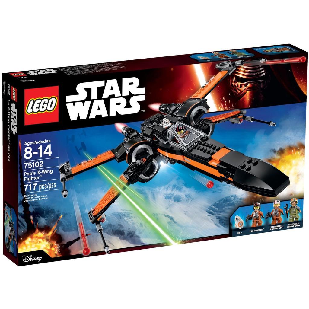 Poe's Fighter 75102 X Wars Lego Wing Star ybf6I7gvYm