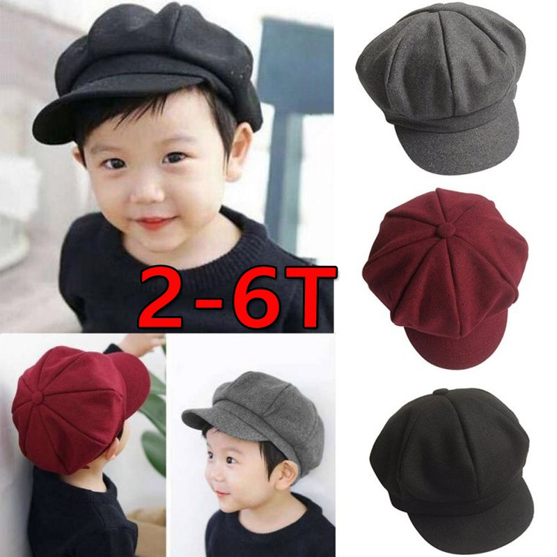 469ff81a0af Toddler Baby Beret Hat Cap Kid Boys Girls Hat 20 10