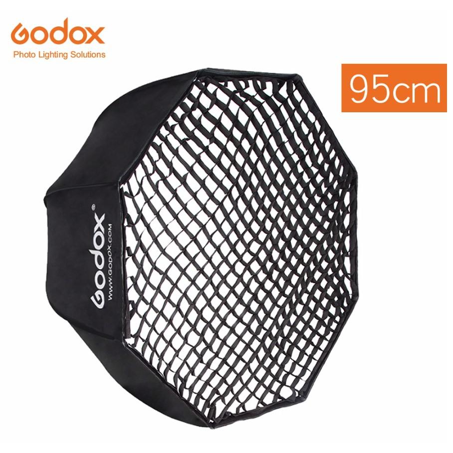 "Godox Portable 95cm 37.5"" Honeycomb Grid Umbrella Softbox for Speedlight  Flash | Shopee Singapore"