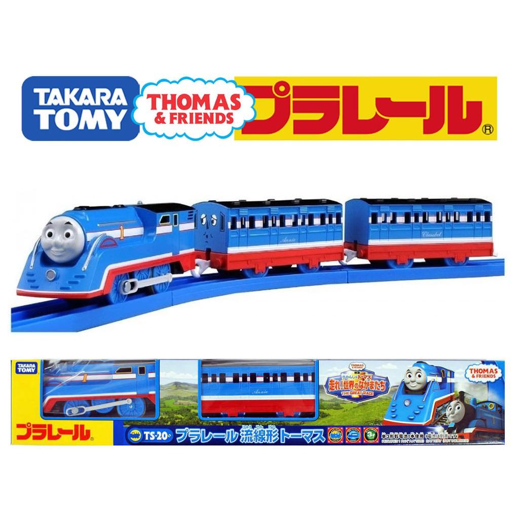 TAKARA TOMY Plarail Thomas Streamline Thomas with Annie and Clarabel w//tracking#