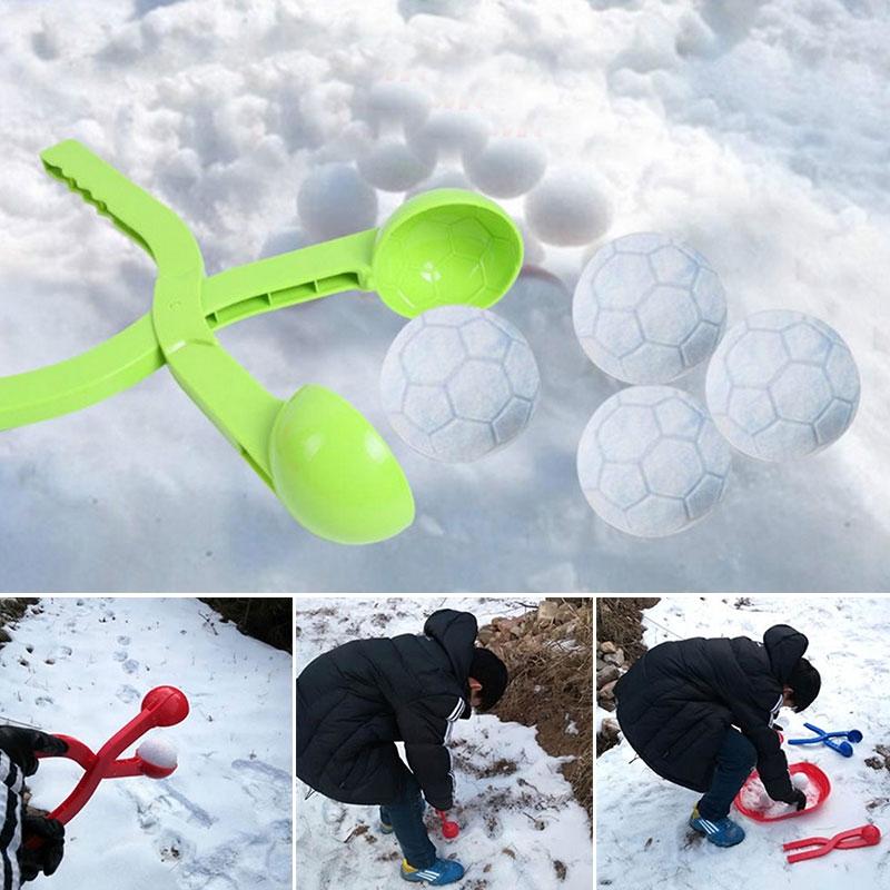 Snowballs Maker Snowball Fight Snow Ball Clip Winter Keep Hand Warm Activity A