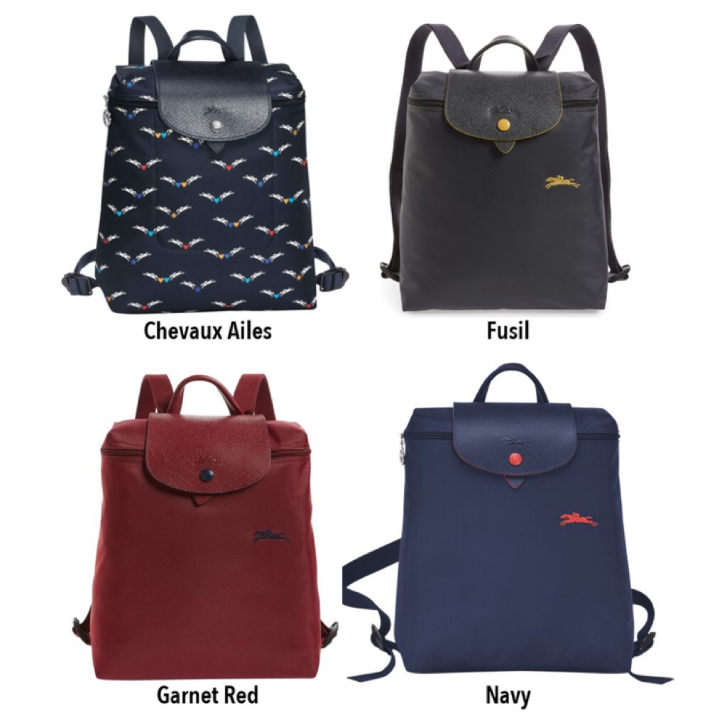 264cb74da13f0 Longchamp 1119 la plaige Neo backpack medium size black