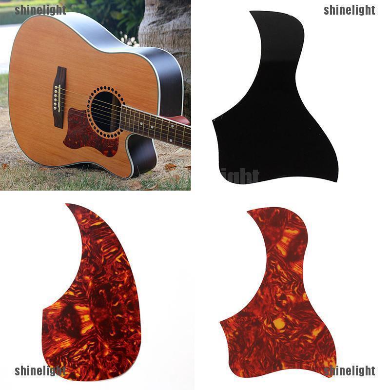 1x Celluloid Kolibri Akustik Gitarre Pickguard Scratch Plate Pick Guard ZP
