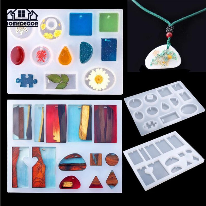 83pcs Resin Casting Silicone Molds Epoxy Spoon Kit Jewelry Making Pendant Craft