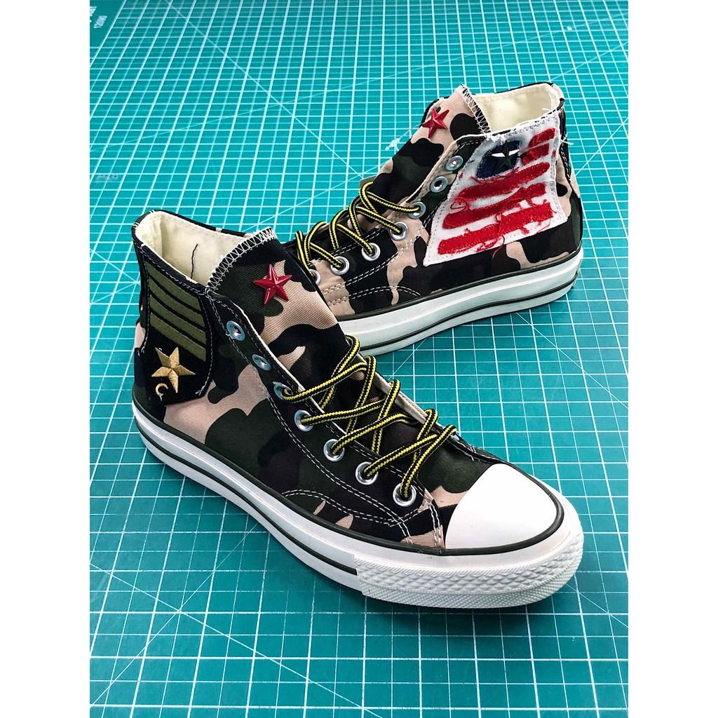 Converse CDG X Chuck Taylor 1970s HiOX 18SS Skateboarding Shoes Sport White  men  80dfed9b7a0b
