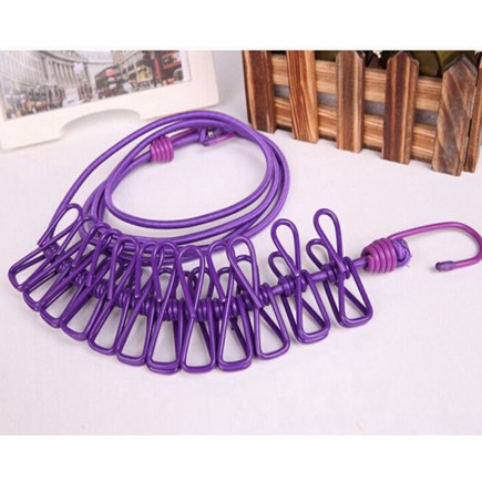 MYLIVING Portable Outdoor Travel Rope Drying Laundry Rope ... on Myliving Outdoors id=28396