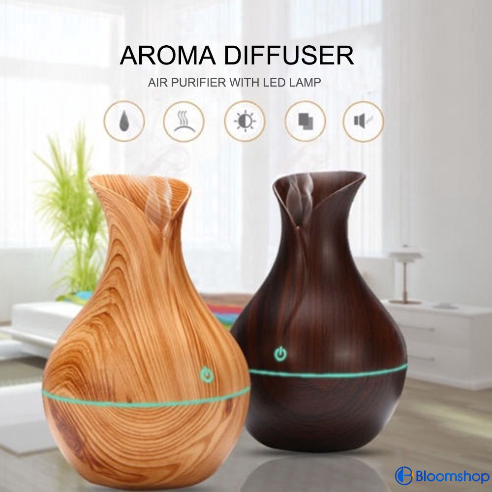 HOT  LED Ultrasonic Aroma Humidifier Air Aromatherapy Essential Oil Diffuser