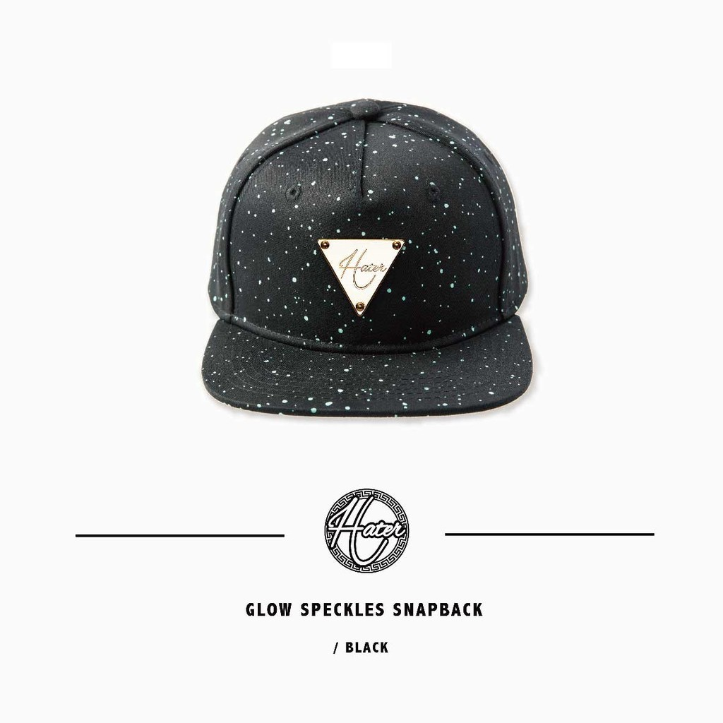fa577e4f23d Hater Snapback Reflective Cage Snapback Reflective Cage Baseball Cap -  White