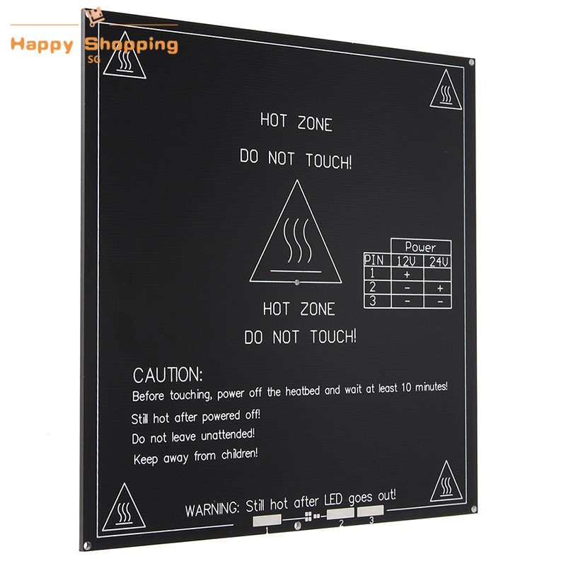 Reprap Heatbed Heat Bed Pcb Mk2a Hot Plate For 3d Printer Prusa Mendel Sales Of Quality Assurance Active Components Electronic Components & Supplies