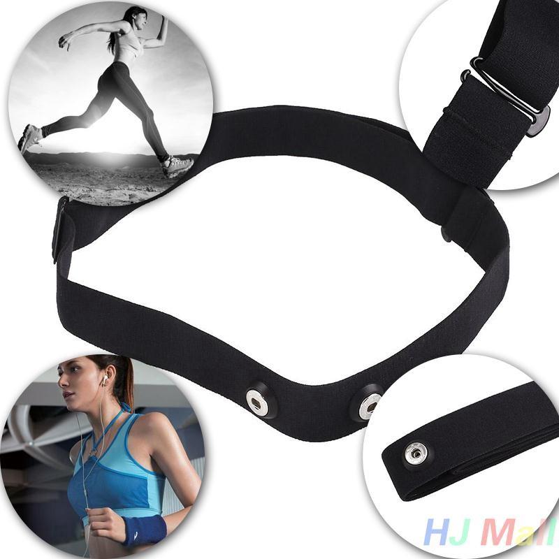 New Adjust Chest Belt Strap Band for Garmin Wahoo Polar Sport Heart Rate Monitor