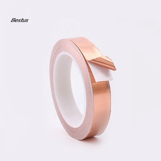 5mm*30m Single-Sided Foil Tape Conductive Self Adhesive Copper Heat Insulation