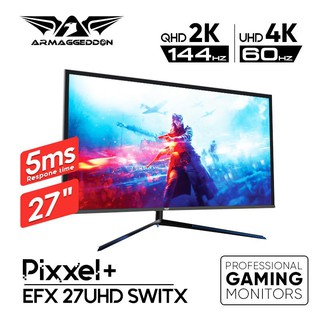 Armaggeddon Pixxel+ EFX 27UHD SWITX 4K/2K, Up To 120 Hz 27