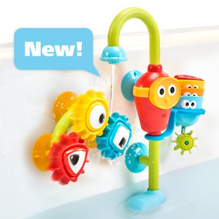 Bath Toy Sort Spout Pro Stackable Cups And Spinning Suction Easily Attach Moderate Price Bathing Accessories