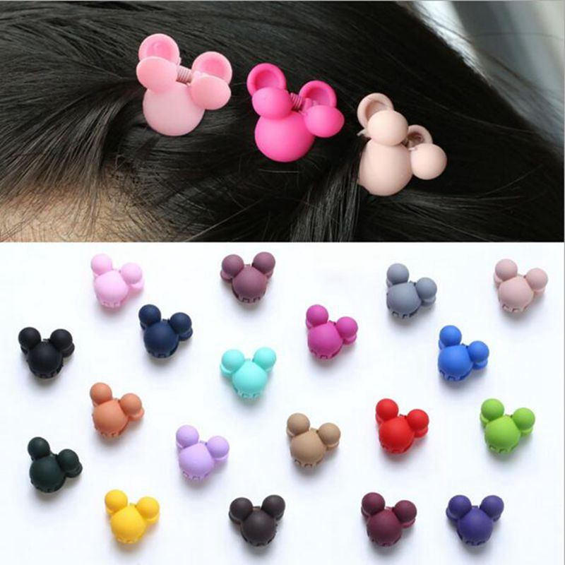 20pcs//lot Kids toddler Baby Girls Color bow hair accessories hair clips hairpins