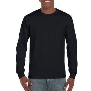 Gildan Ultra Cotton Adult Long Sleeve T-Shirt Uomo