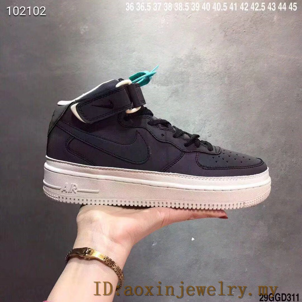 100%Nike air force 1 mid air force one chameleon | Shopee