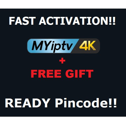 [FREE GIFT] Authorized MYIPTV4K / MYIPTV Subscription DEALER! (Recommended!)