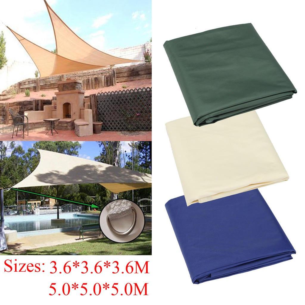 Sun Shade Sail Uv Top Outdoor Canopy