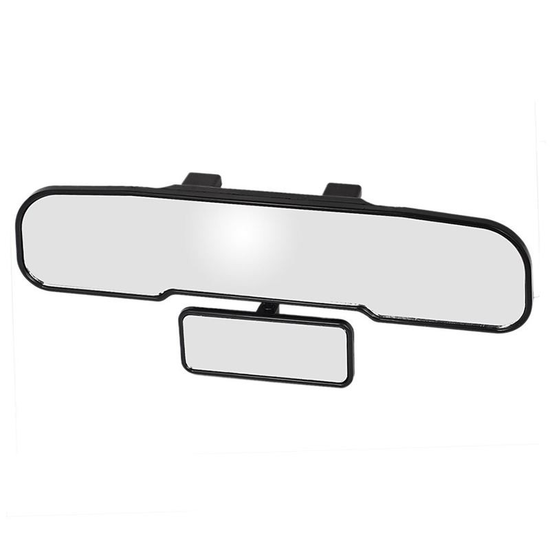 2Pcs Adjustable Rectangle Blind Spot Mirror Car Auto Auxiliary Side Rear View