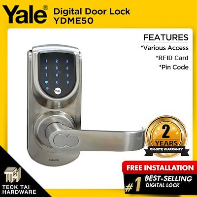 Yale YDME50 Digital Door Lock