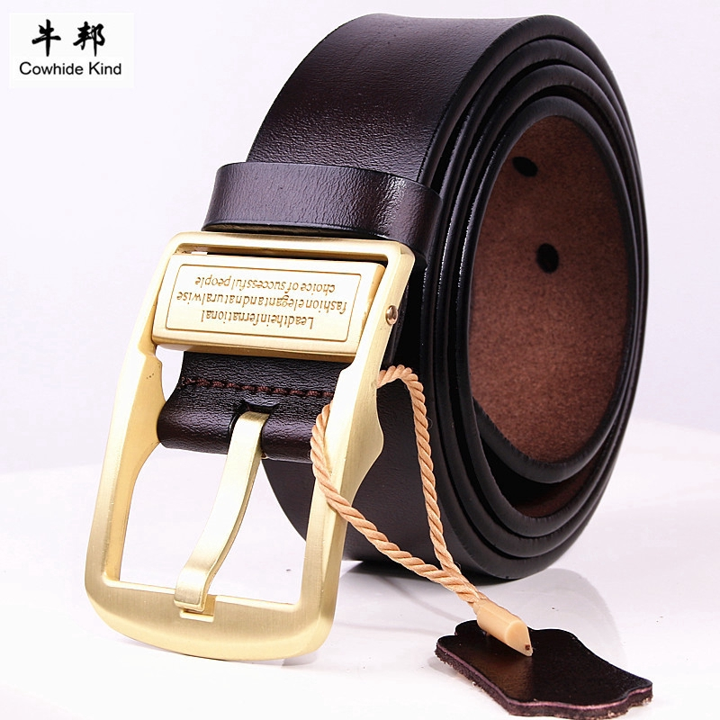 Men Women Woven Braided Genuine Leather Waist Belt Waistband 105-125cm Soft Long