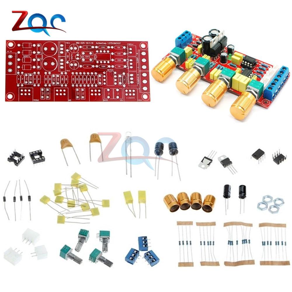 Ne5532 Pre Amplifier Preamp Tone Board