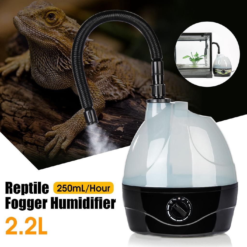 2 2l Tank Amphibians Reptile Fogger Humidifier Vaporizer Fog Maker