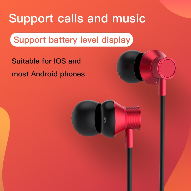 HOCO ES13 Wireless Bluetooth Earphone Headphone Hands-free