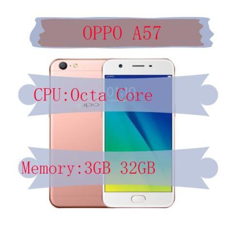 New Original OPPO A57 32 GB ROM 3GB RAM Fingerprint Unstoppable Selfies  Phone