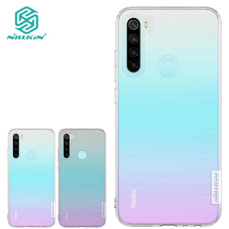 Nillkin Tpu Cases For Xiaomi Redmi Note 8 Case Silicone Soft Cover Camera Protection Case Shopee Singapore