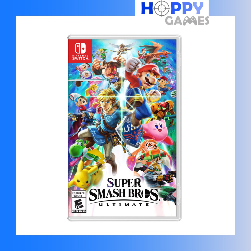 Super Smash Bros Ultimate Nintendo Switch Super Smash Bro [ASIA]