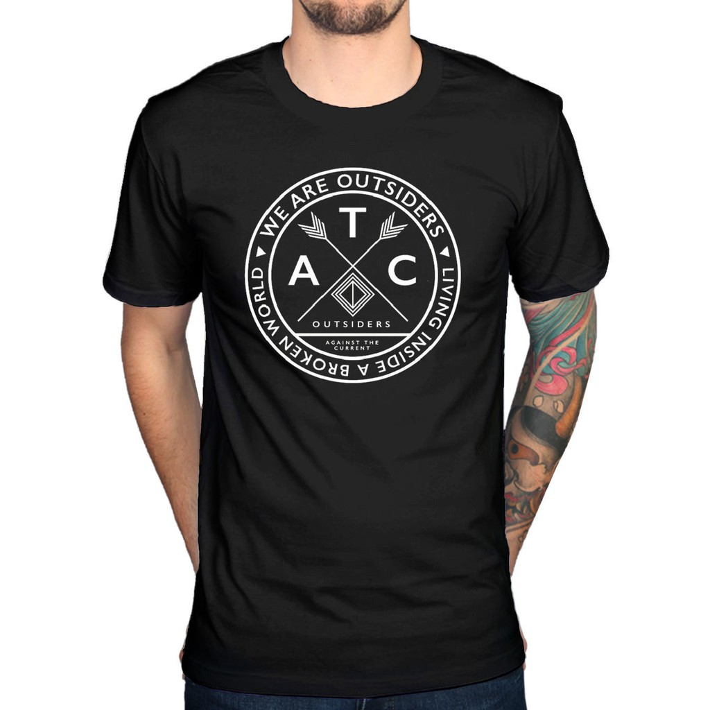 Official Against The Current We Are The Outsiders T-Shirt New Merch Gravity