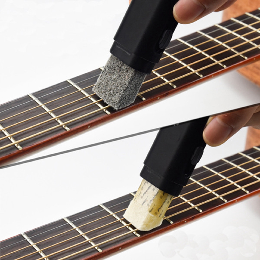Musical Instruments Electric Guitar String Scrubber Fingerboard Rub Cleaning Tool Maintenance Special Care Apparatus Wipe Brush Guitar Cleaner Tool Sports & Entertainment