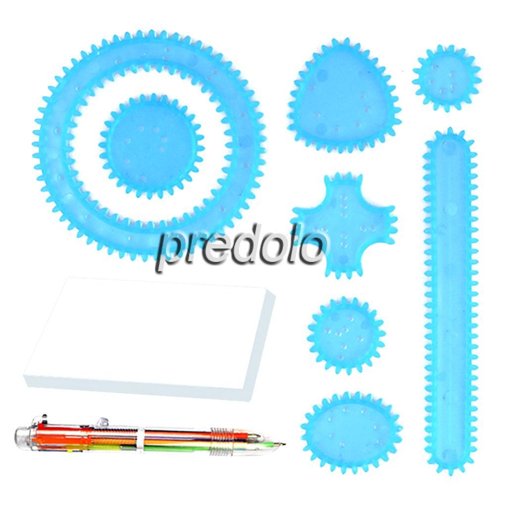 Spiral Art Set Spirograph Design Set Spiral Drawing Tool Art & Craft Stationery Toys & Games