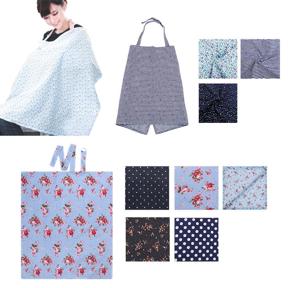 Size:98*57cm Portable Baby Mum Breastfeeding Nursing Blanket Cover Shawl Tops Cover Color:black