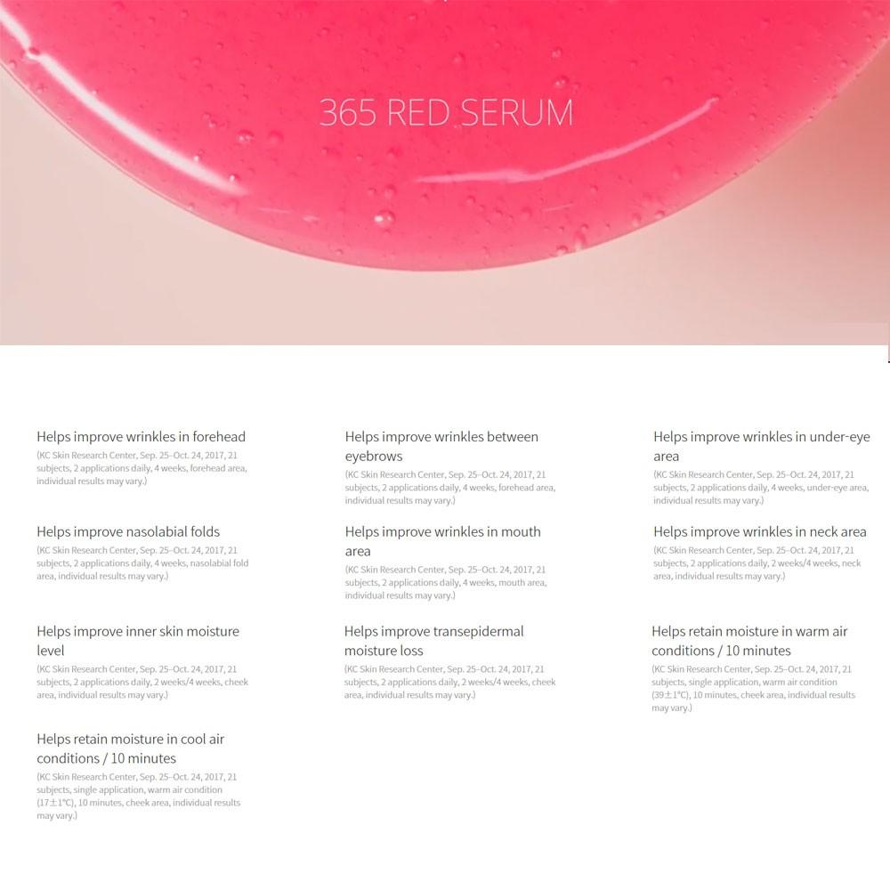 AHC 365 RED Serum+Cream Special Set | Shopee Singapore